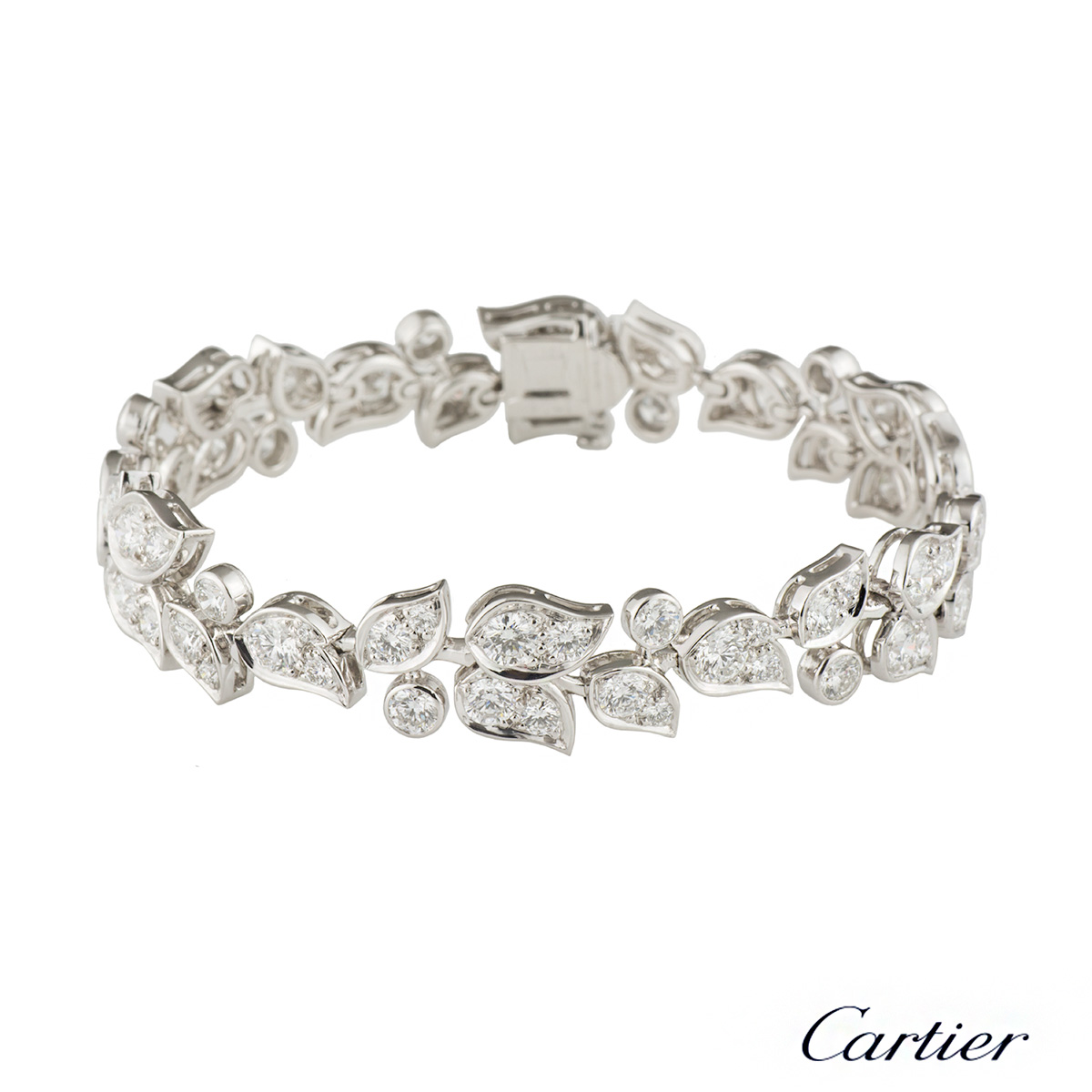 Princess Cut Diamond Bracelet